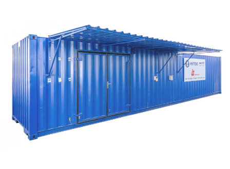 Containerised hydraulic services