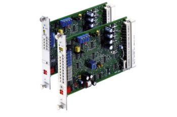 Analogue amplifier card for 4/3 proportional directional 4WRE valves