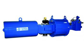 Heavy duty carbon steel pneumatic actuators