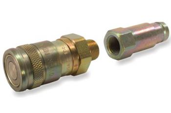 Couplers for heavy duty hydraulics